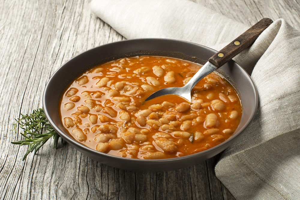 Photo showing a bowl of beans