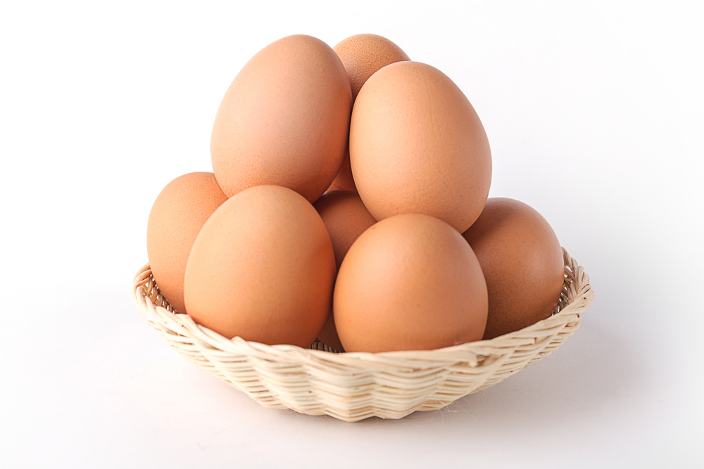 Photo showing eggs