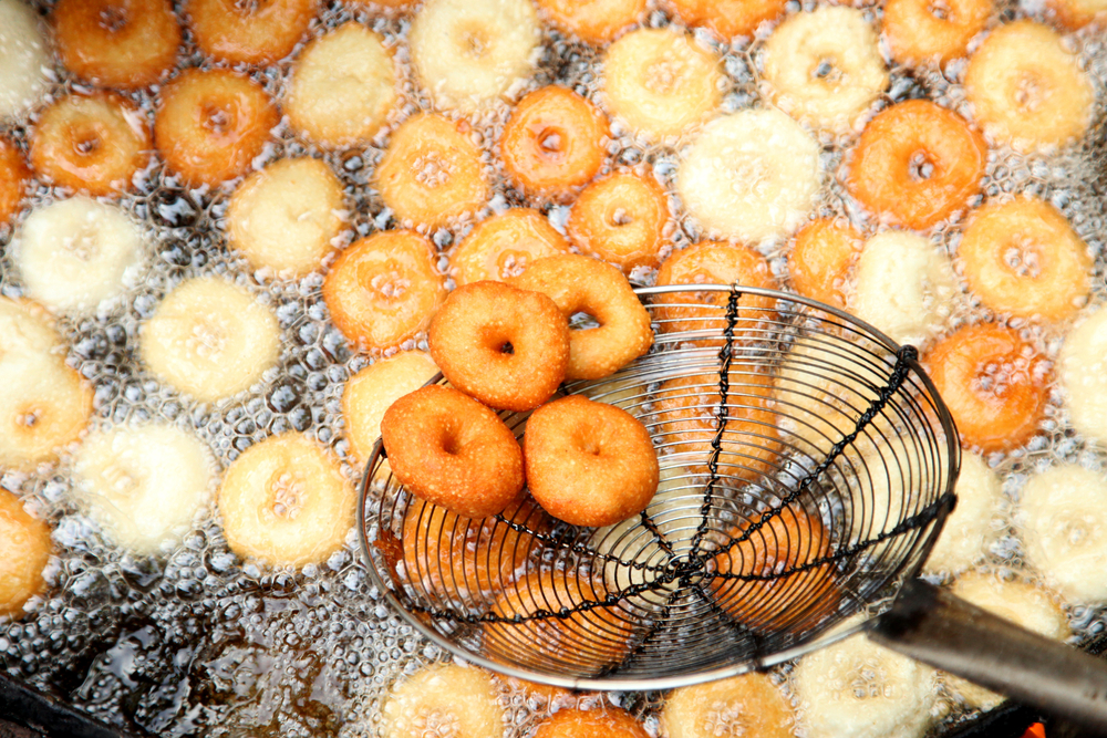 Photo showing fried snacks