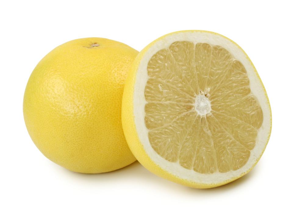 Photo showing white grapefruit