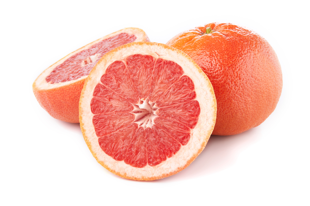 Photo showing red grapefruit