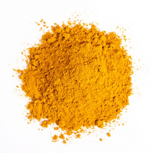 Photo showing turmeric powder