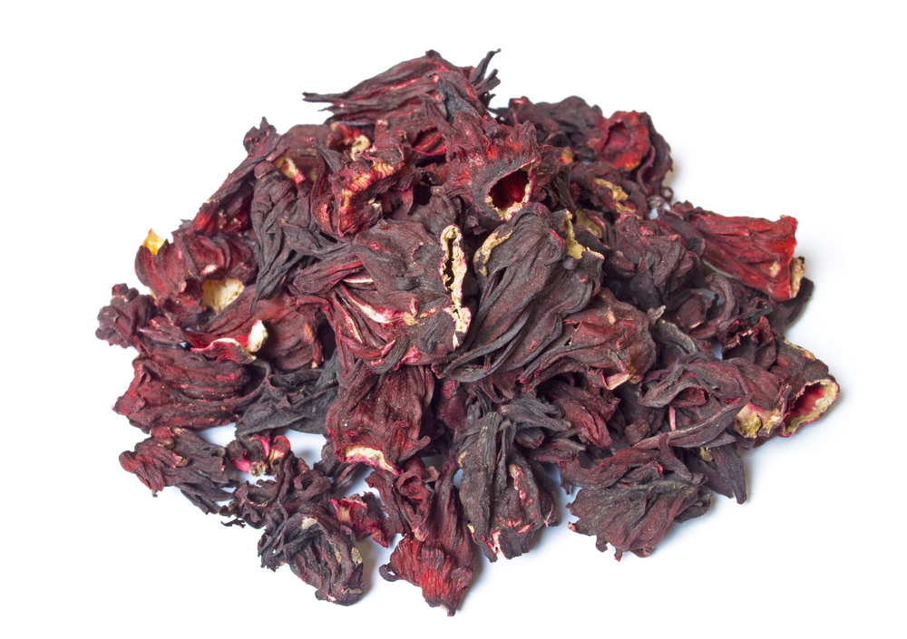 Photo showing zobo leaf