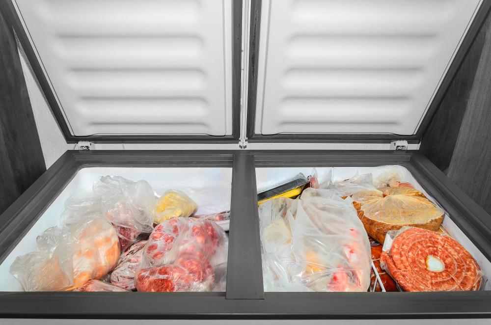 Photo showing deep freezer