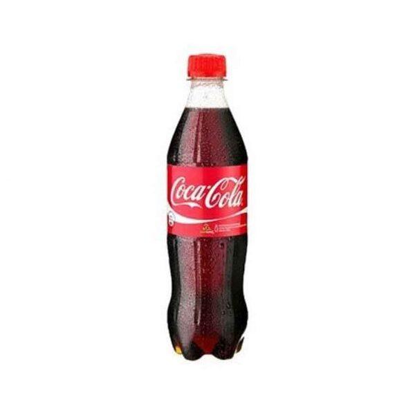 Photo showing Coca-Cola pet bottle