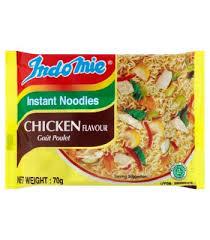 Photo showing indomie chicken flavor