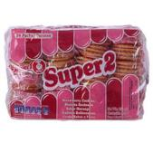Photo showing superpack strawberry biscuit