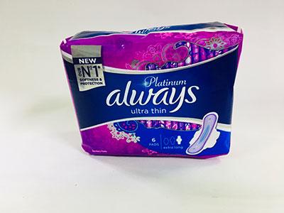 Always Platinum Ultra Thin Sanitary Pad