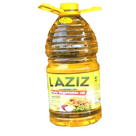 Laziz Vegetable oil 5L