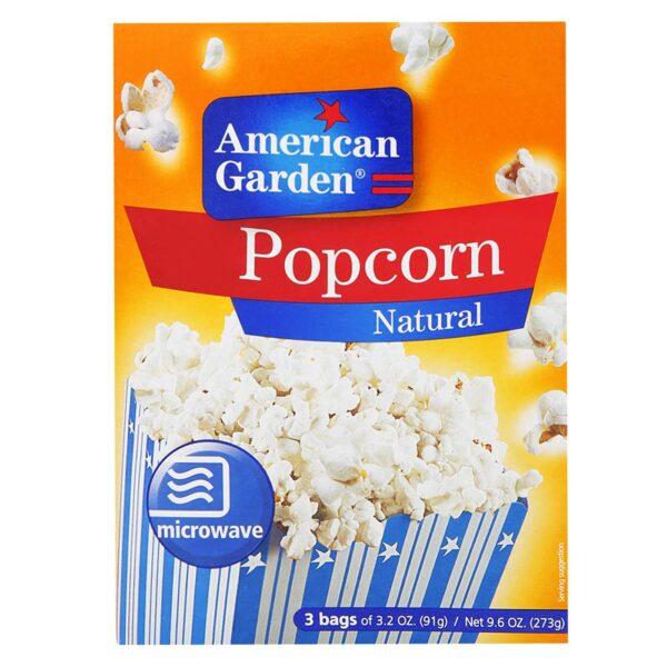 American Garden Microwave Popcorn Natural